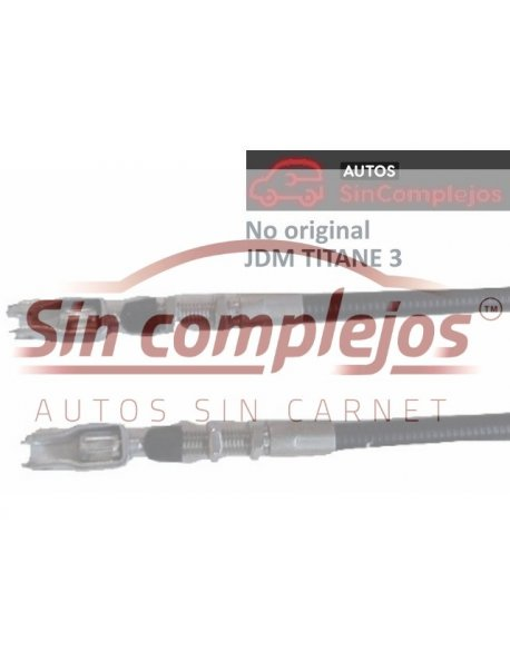 SC338 CABLE FRENO MANO TITANE 3