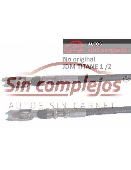 SC337 CABLE FRENO MANO TITANE 1 / 2