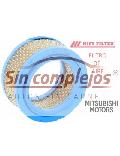 FILTRO DE AIRE MOTOR MITSUBISHI. MARCA HIFI FILTER
