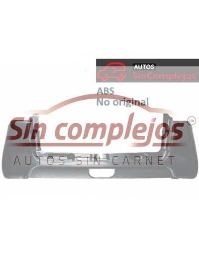 PARAGOLPES TRASERO EN ABS. 7BD029A. NO ORIGINAL