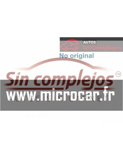 ADHESIVO PEGATINA WWW.MICROCAR.FR. NO ORIGINAL.