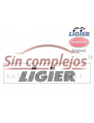 ADHESIVO PARAGOLPES LIGIER JS50 / JS50L