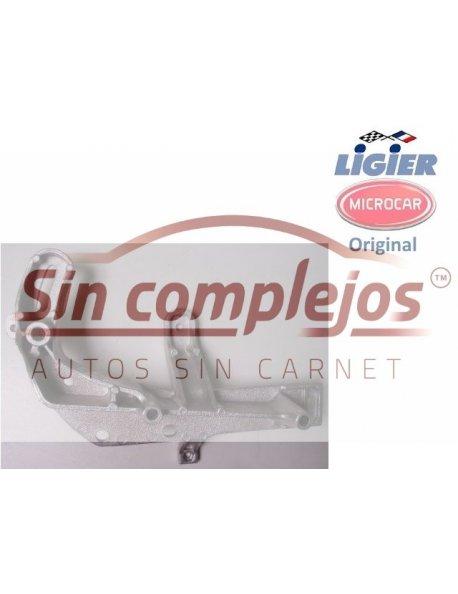 SOPORTE MOTOR Y ALTERNADOR MICROCAR / LIGIER. ORIGINAL.