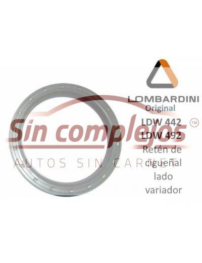 RETEN DE CIGÜEÑAL LADO VARIADOR. LOMBARDINI DCI 442 / 492