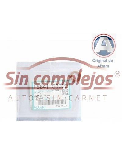 ARANDELA CORTAFUEGOS DE INYECTOR KUBOTA Z402 / Z482. ORIGINAL. 1584153622