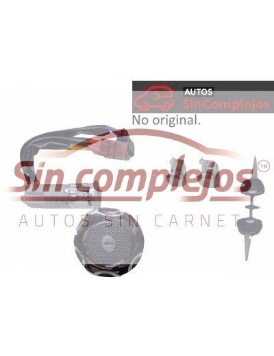 ANTIRROBO + 2 LLAVES + 2 BOMBINES + 1 TAPÓN DE DEPÓSITO