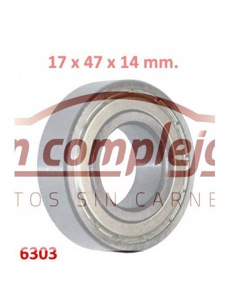 Dimensiones Ø17 x 47 x 14 mm.