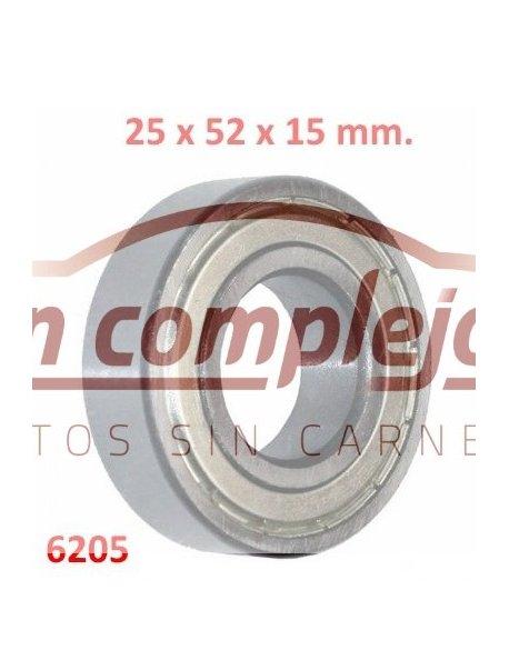 Dimensiones  Ø25 x 52 x 15 mm.