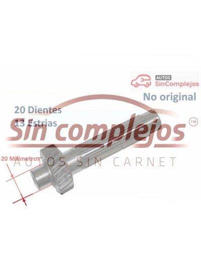 ÁRBOL SECUNDARIO D20/13. CAJA DE CABIO COMEX.
