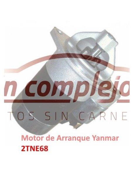 MOTOR DE ARRANQUE YANMAR 2TNE68
