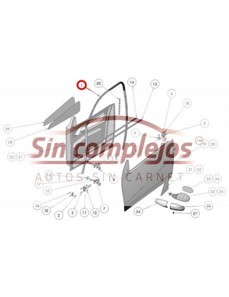 GOMA DE PUERTA LIGIER.0072157