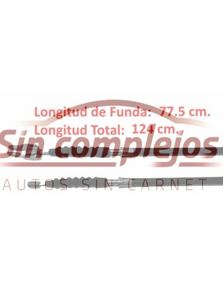 CABLE FRENO MANO MICROCAR MC1 / MC2