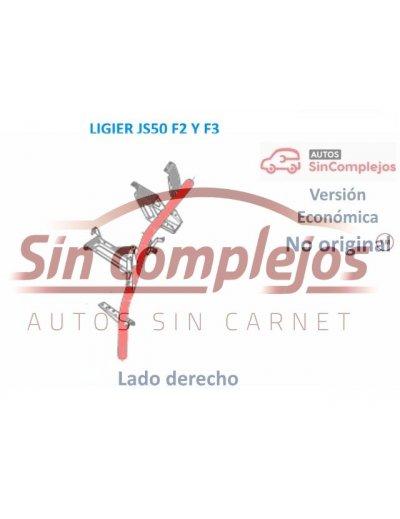 BARRA DE SUSPENSIÓN DERECHA LIGIER JS50 F2 / F3. 1408187.  NO ORIGINAL.