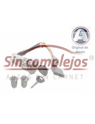 ANTIRROBO + BOMBINES ORIGINAL AIXAM 4G019