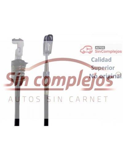 CABLE ACELERADOR DE MOTOR KUBOTA AIXAM. 1K021. CALIDAD SUPERIOR.